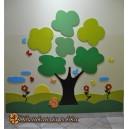 Wesoła Łąka- dekoracja ściany