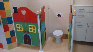 Kabiny Łazienkowe dla dzieci