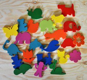 wieszaki - znaczki oznaczenia przedszkolne