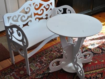 ławka i stolik 1