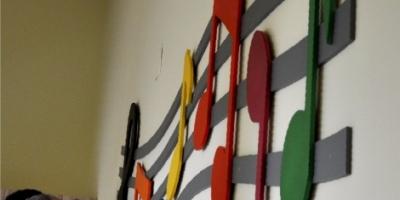 Nutki dekoracja w przedszkolu 2