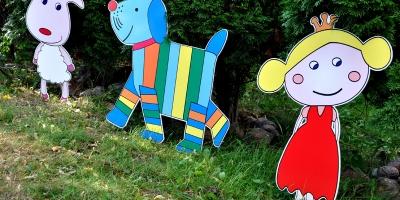 Przedszkolne dekoracje ogrodowe