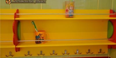 półka łazienkowa na kubeczki -2