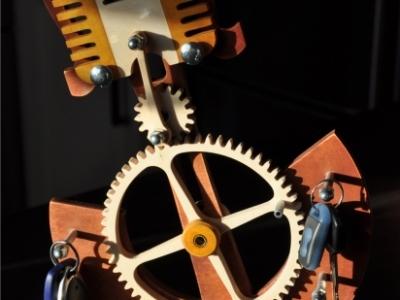 wieszak na kluczyki - silnik
